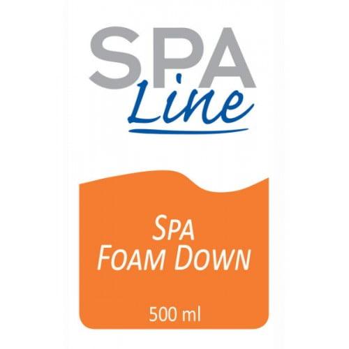 SPA FD001 Spa FoamDown label