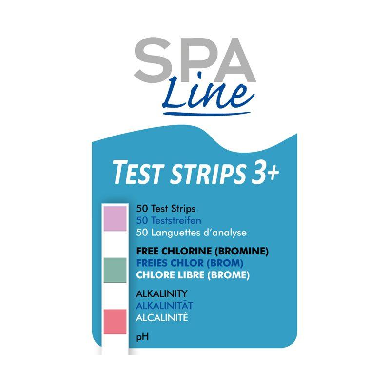 spaline teststrips label 1